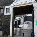 Entry to the distillery