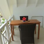 Dining table in balcony