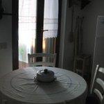 Cocina habitación roja