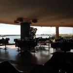 Castillo de San Jose restaurant overlooking Arrecife