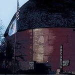 The Round Barn on the Outside