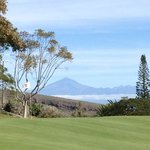 Green 9 with the Teide (Teneriffa): with 3781 m the highest mountain in Spain!