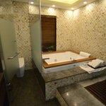 Bathroom of presidential suite