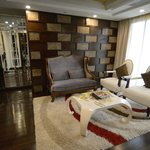 lounge of presidential suite