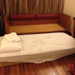langkawi lagoon wanted to charge us rm200++ for the sofa as an extra bed. we made a big fuss and