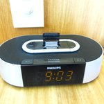 Alarm Clock with Iphone charger