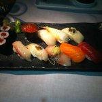 maravilhosos sushis