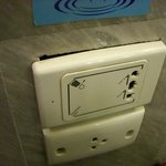 Unsafe electricals