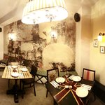A panoramic view of the restaurant