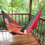 Relexing in the hammock