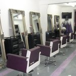 Our wonderful stylish salon.
