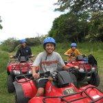 ATV up Rincon de la Vieja