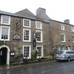 The Kings Arms Askrigg from southside of the Main Street