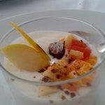 Chiquito de yogurt con fruta