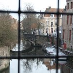 Canal view from breakfast room