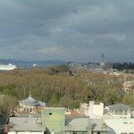 Vista desde la terraza del hotel Adamar