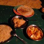 dinner at White Desert