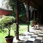 Casa Robleto interior courtyard