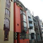 Post war architecture in Frankfurt
