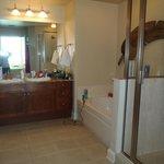 Master Bathroom in our Condo
