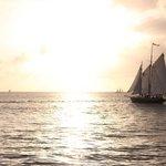 The Hindu sailing past Mallory Square 12/25/12