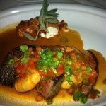 Filet special with prawns...delicious!
