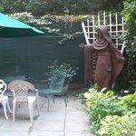 Café au jardin
