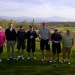 Sunridge Canyon 1st Tee - Day 1 of our week in Scottsdale