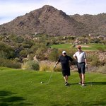 Sunridge Canyon Hole # 17 Par 3 194 yards.