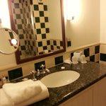 Standard bathroom - nice finish