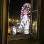 Vue de la grande roue place Lorraine depuis la chambre