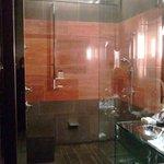 Open shower concept