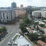 View of Sandton from our room