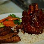Cuban Pork Shank - a House Specialty