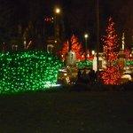Mormon Temple Square Christmas Lights