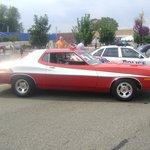 Starsky and Hutch Gran Torino at Police Car Show Woodward