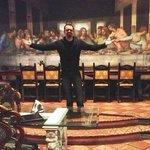 zio Cat (Alessandro Riquelme Cattarello) al Michelangelo All ultima cena al secondo piano :))