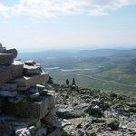 Utsikt fra Muen! 1424 moh