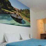 Camera da letto matrimoniale Gallery Hostel