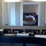 The bath vanity