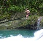 At Reach Falls