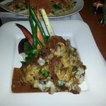 Veal Scallopini with mashed potatoes