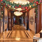 Lobby hallway to elevators