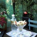 a excelent light breakfast in Antigua Molienda Cafe
