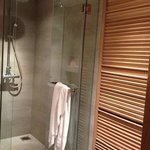 the slats and shower