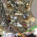 Inside the shopping mall near the train station at Shenzhen