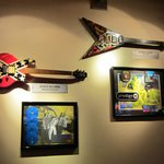 Guitars of Famous Musicians.