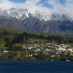 The Remarkables from the balcony