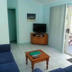 Foxtel Gardenia 2 bedroom lux loungeroom