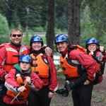 Family Whitewater Fun on the Kicking Horse River
